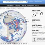 Forecast.io, potente aplicación web para consultar el clima