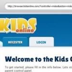 Kids Online, un navegador para niños con control parental