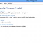 Cómo cambiar el navegador por defecto en Windows 8