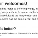 Deferredto hace que Firefox sea más rápido cargando solo imágenes visibles