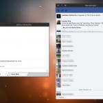 FBMessenger: cliente de mensajería de Facebook para Linux