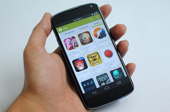 Google Play 4.0.25 Nexus 4