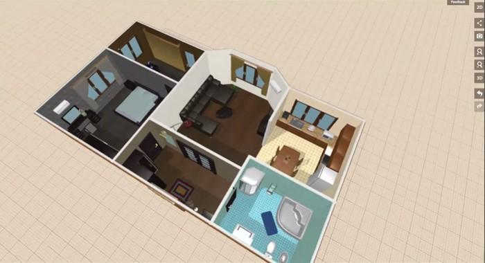Planner 5d incre ble servicio web para dise o de casas for Programa para disenar cuartos