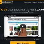 Zoolz da 100GB gratis para almacenar en la nube si te registras dentro del primer millón