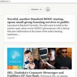 Skimr, el lector web RSS más sencillo y minimalista