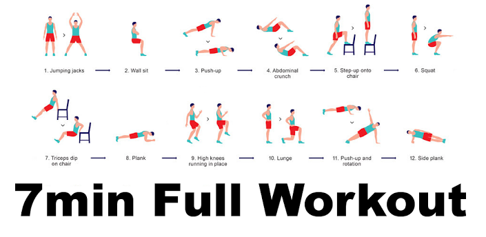 7min full workout
