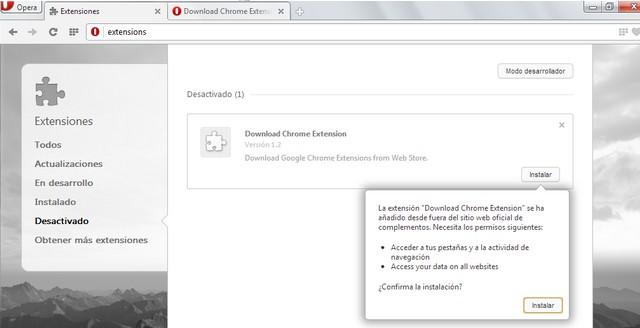 Opera-extensiones-Chrome
