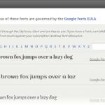 Cómo descargar todas las Google Fonts en tu computadora
