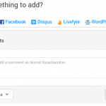 WordPress: Google+ Comments añade Facebook, Disqus y Livefyre