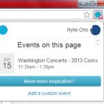 Cómo añadir eventos tomados de páginas web a Google Calendar [Chrome]
