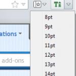 No Small Text: escoge un tamaño mínimo para la fuente de las páginas web [Firefox]