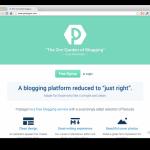 Postagon, plataforma gratis para crear un blogs minimalistas