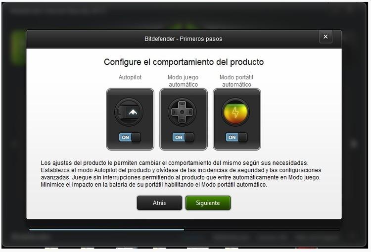 Configuración de Bitdefender internet security 2013