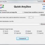 Cómo convertir cualquier imagen a iconos con Quick Any2Ico