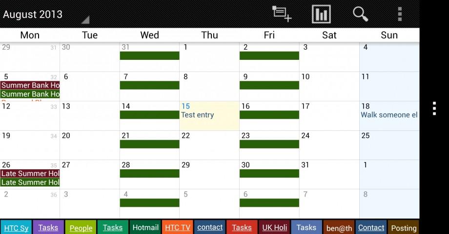 Business Calendar Free