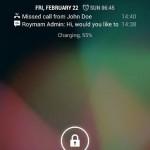 Cómo mostrar notificaciones en la pantalla de bloqueo de Android