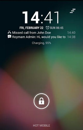NiLS Notification Lock Screen