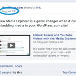 Cómo incrustar posts de Facebook en un sitio de WordPress.com