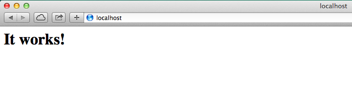 1 - Iniciar Apache en OS X Mavericks