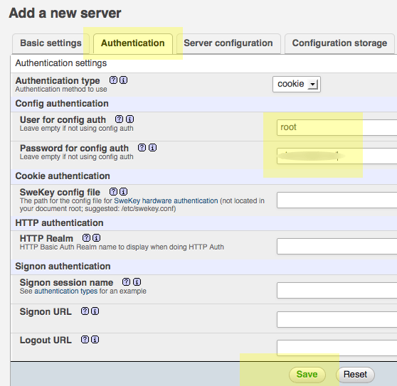 7 - configurar phpMyAdmin