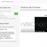 Embed Social: insertar un álbum de Facebook en un sitio web