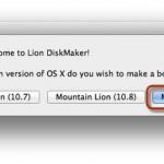 Cómo crear una unidad USB para instalar OS X Mavericks de manera fácil con Lion DiskMaker