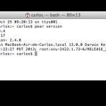 Cómo instalar PEAR y PECL en OS X Mavericks