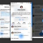 Tweet7: cliente de Twitter acorde a la interfaz de iOS 7
