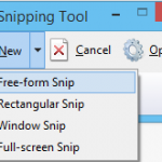 """Cómo tomar pantallazos en Windows con la aplicación integrada """"Recortes"""""""