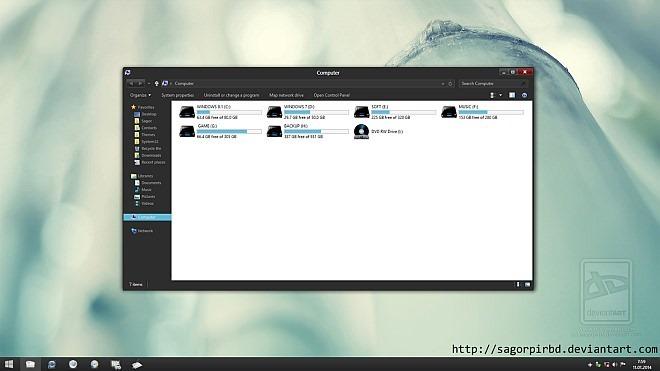 Blaze Theme for Windows 8.1
