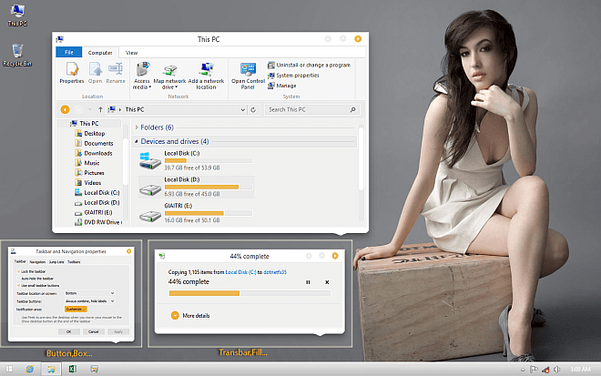 CamVs Windows 8.1 Theme
