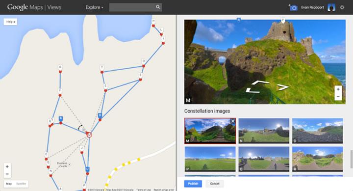 Google Maps Views