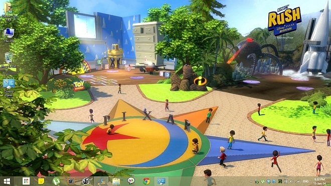 Kinect Rush A Disney Pixar Adventure Theme for Windows 8.1