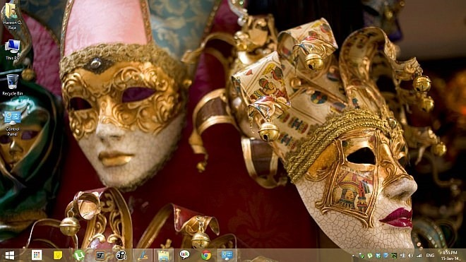 Masquerade Theme for Windows 8.1