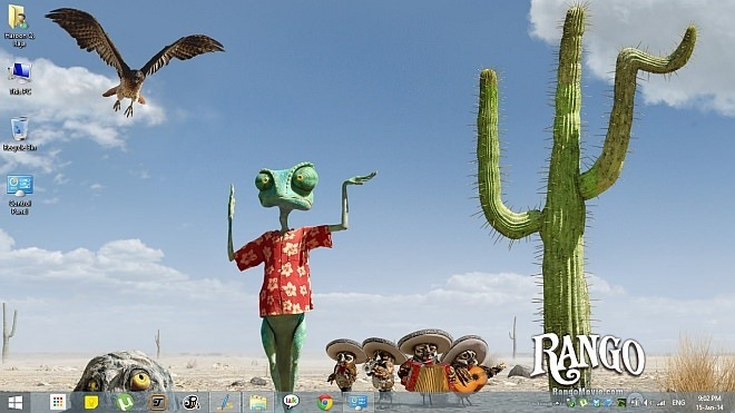Rango Theme for Windows 8.1