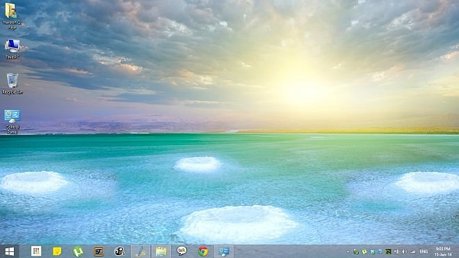 Salt Lakes and Dead Sea Theme for Windows 8.1