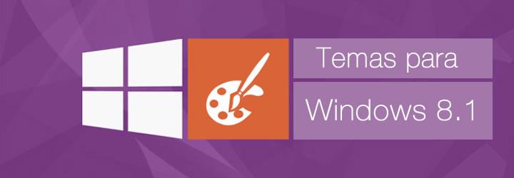 Temas para Windows 8.1