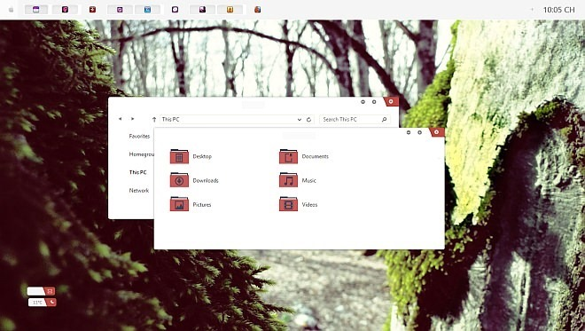 Vlinder Theme for Windows 8.1