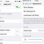 Cambia la apariencia de la pantalla de bloqueo de tu iPhone para que parezca la de Android con JellyLock7