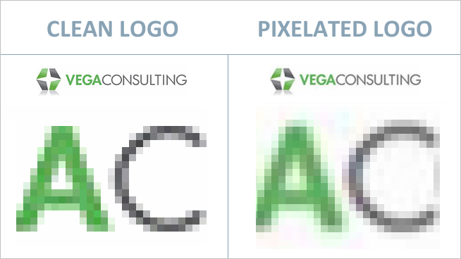 Logo pixelado