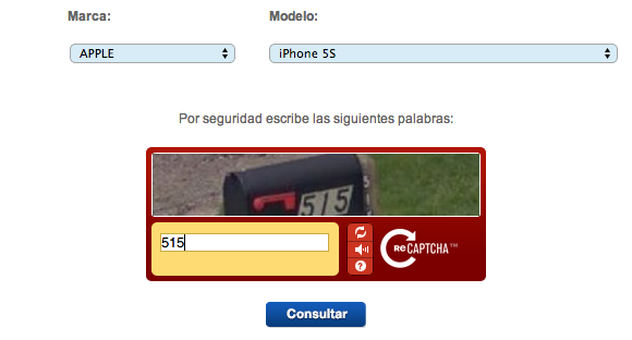 Desbloqueo de celulares con Telcel - Paso 1
